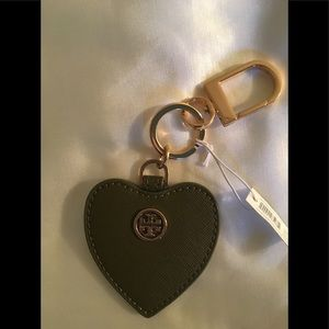 NWT Tory Burch Heart Key Fob